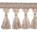 "DECORATIVE TRIM 3 1/2"" TASSEL FRINGE OAK 300909"