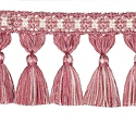 "DECORATIVE TRIM 3 1/2"" TASSEL FRINGE WATERMELON 300913"