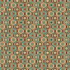 MULTI HEXAGON - ROBERT ALLEN FABRICS SAFFRON