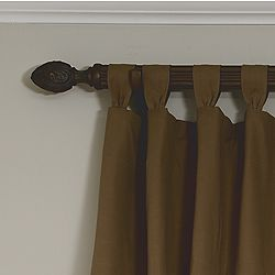 Gathered Tab Valance