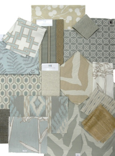 Thom Filicia Fabric Collage, Seamist