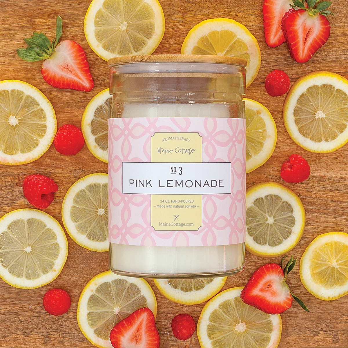 Pink Lemonade Candle – 24 oz.