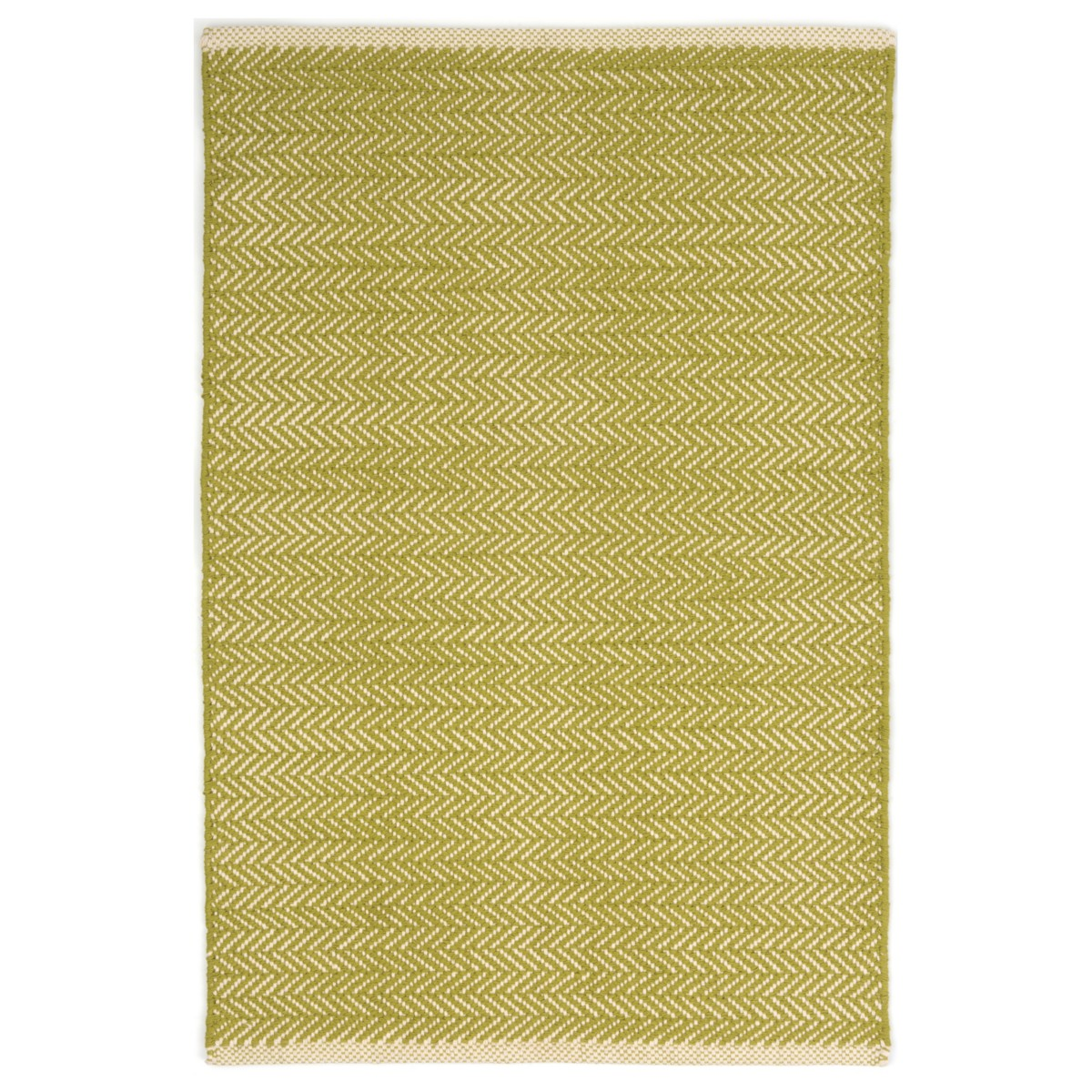 Herringbone Cotton Rug - Citrus