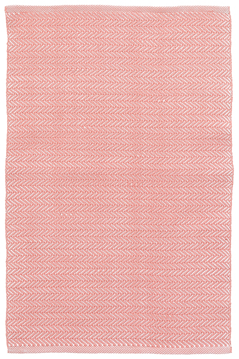 C3 Herringbone Coral Indoor/Outdoor Rug