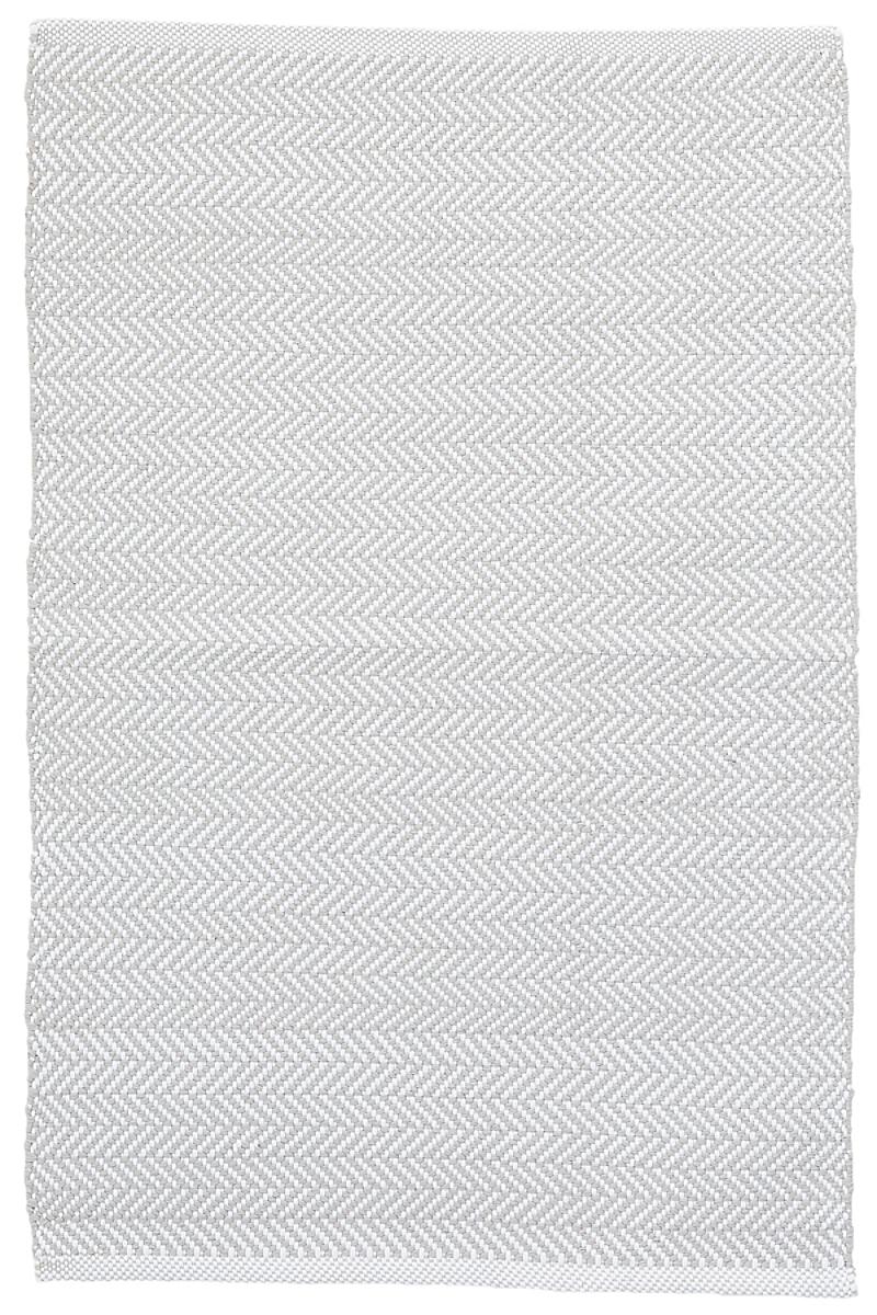 C3 Herringbone Pearl Grey Indoor/Outdoor Rug