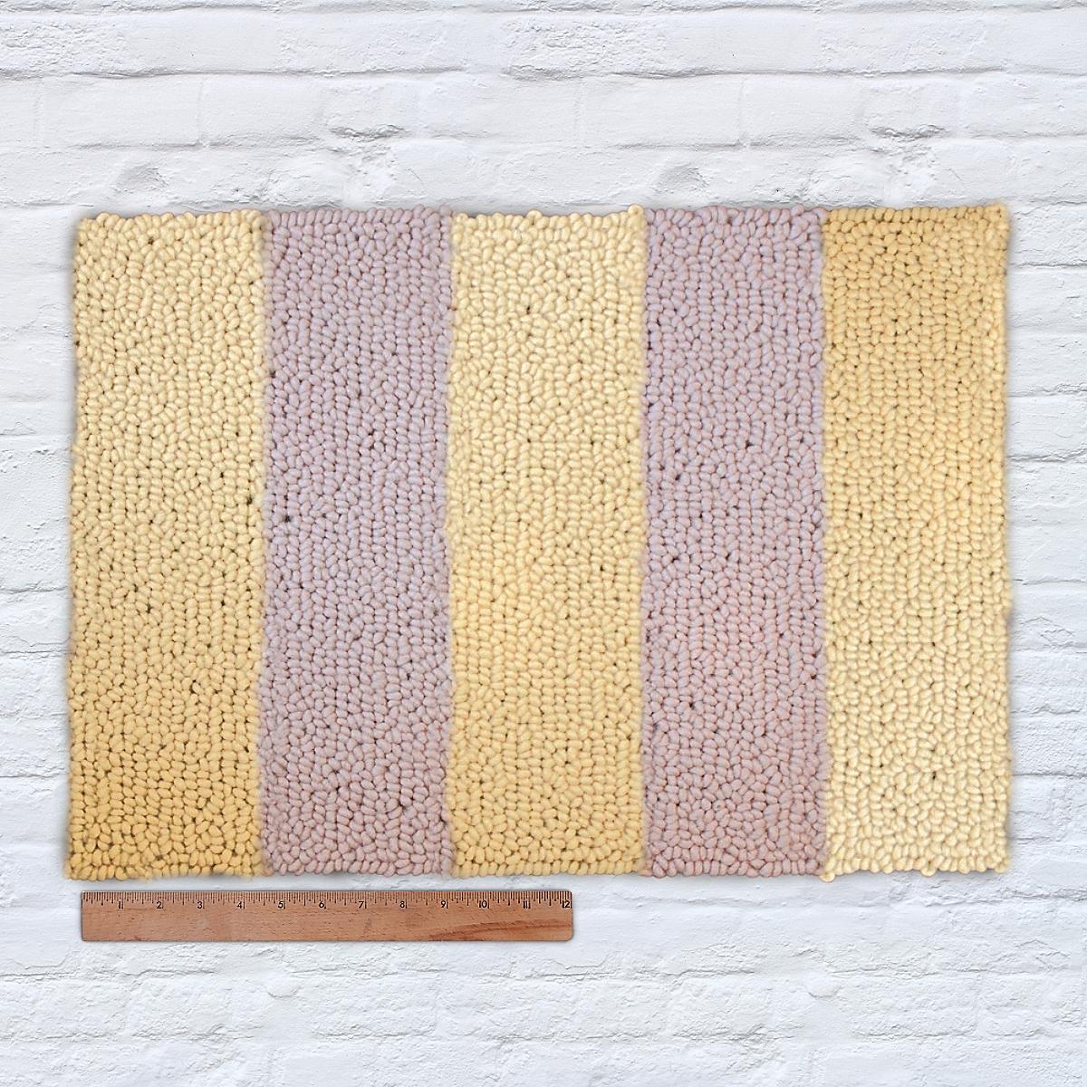 Waypoint Wool Rug Duo Stripe Ivory Sun
