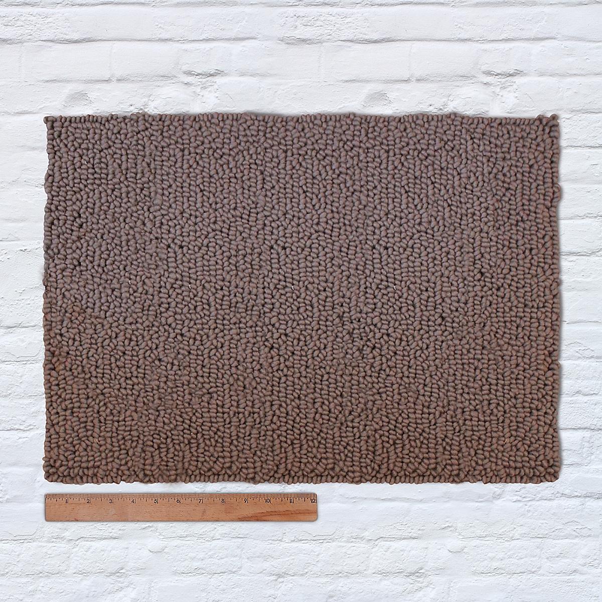 Waypoint Wool Rug Solid Bark