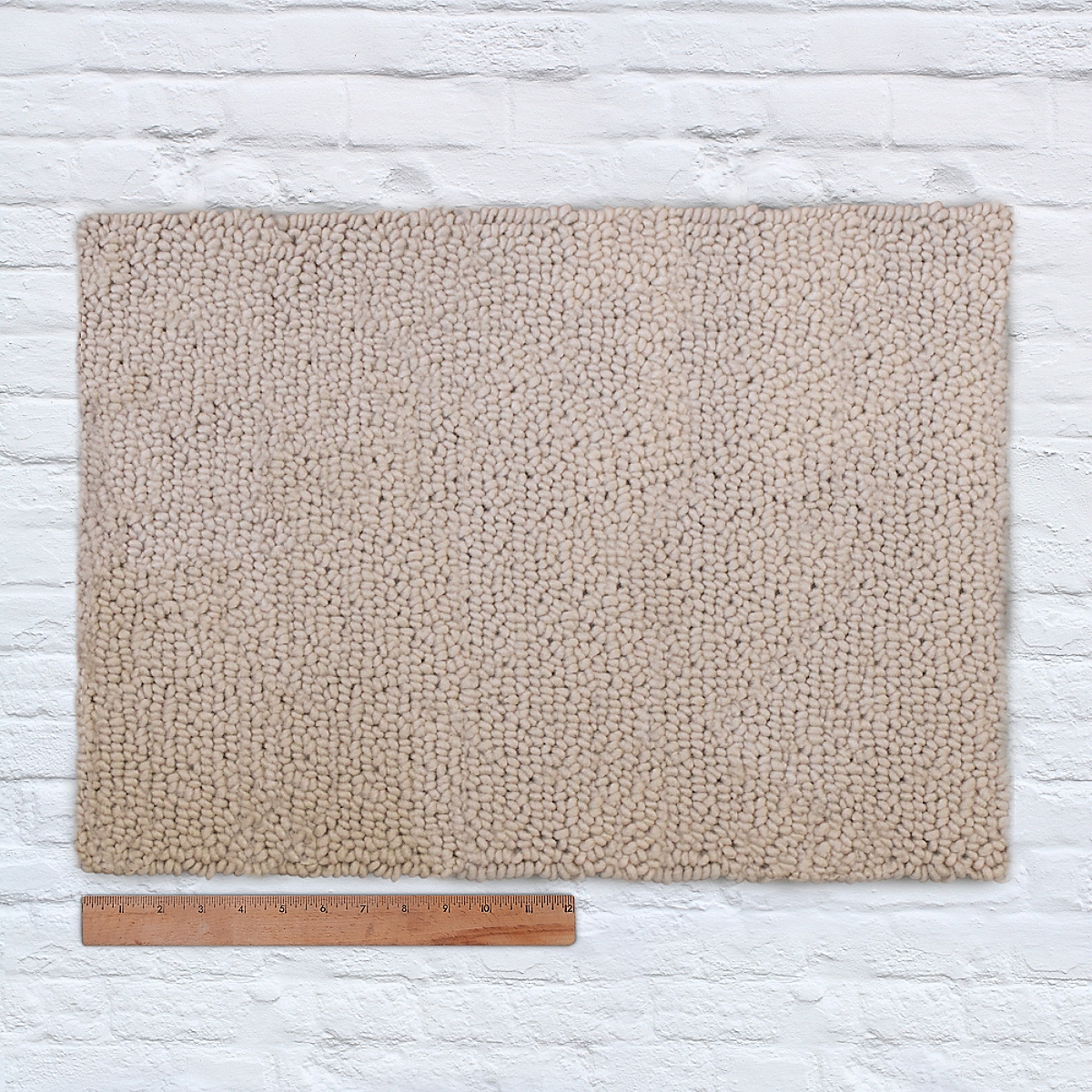 Waypoint Wool Rug Solid Ivory