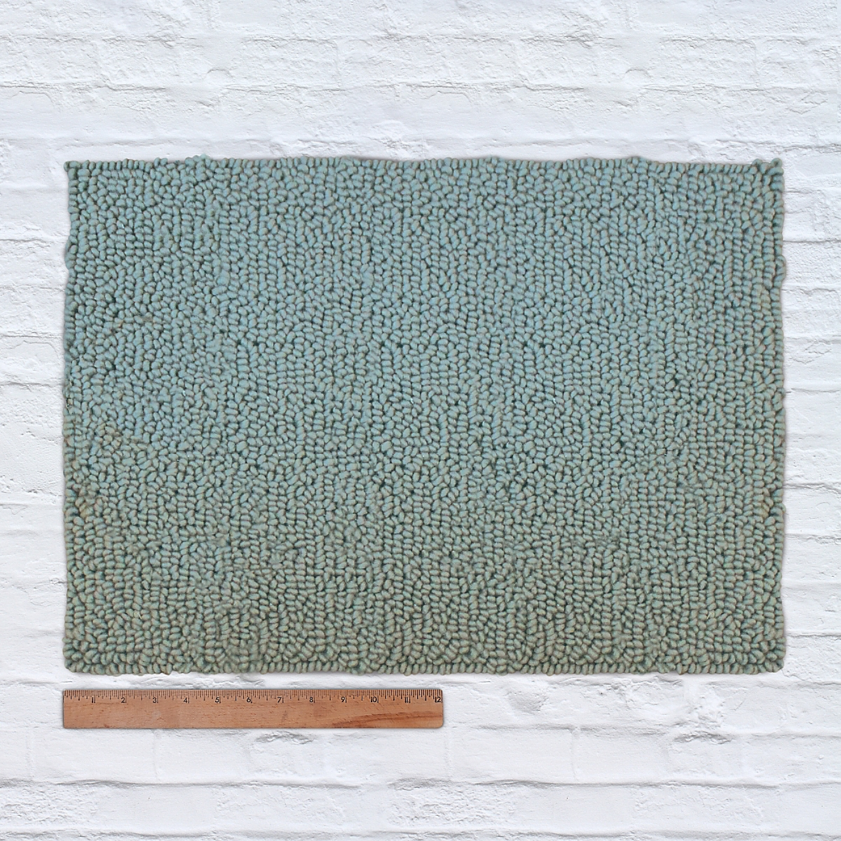 Waypoint Wool Rug Solid Porch