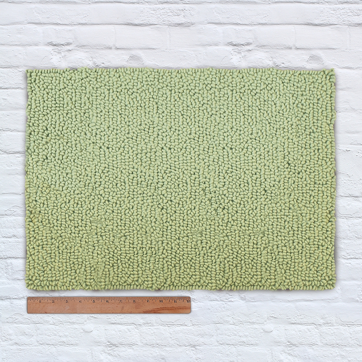 Waypoint Wool Rug Solid Sprout