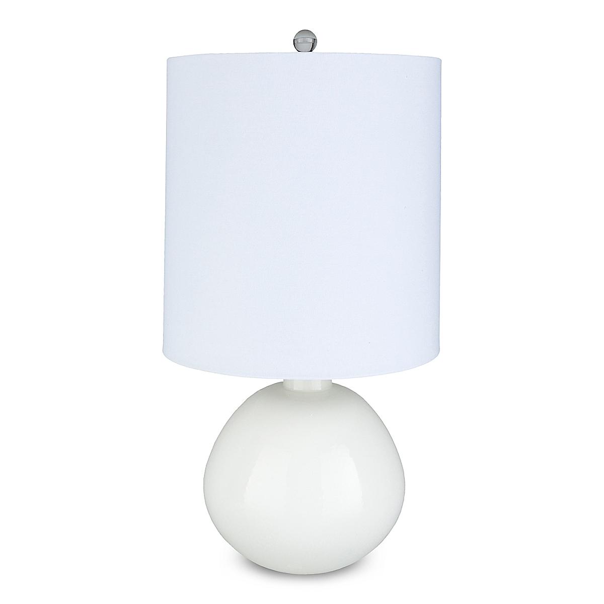 Dottie Table Lamp - White