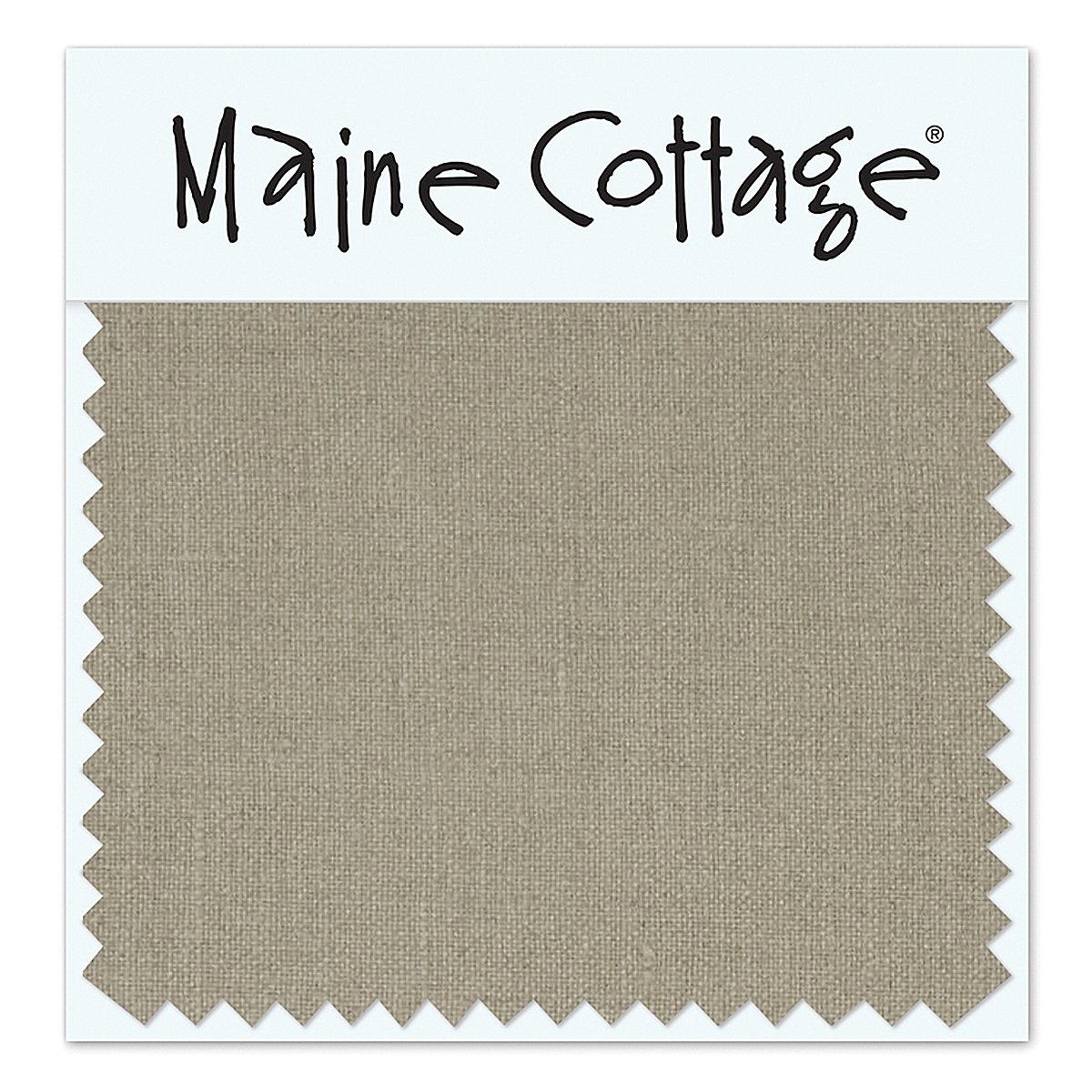 Beach House Linen: Bark (swatch card)