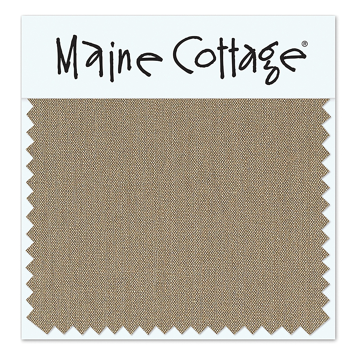 Belgian Linen: Bark (swatch card)