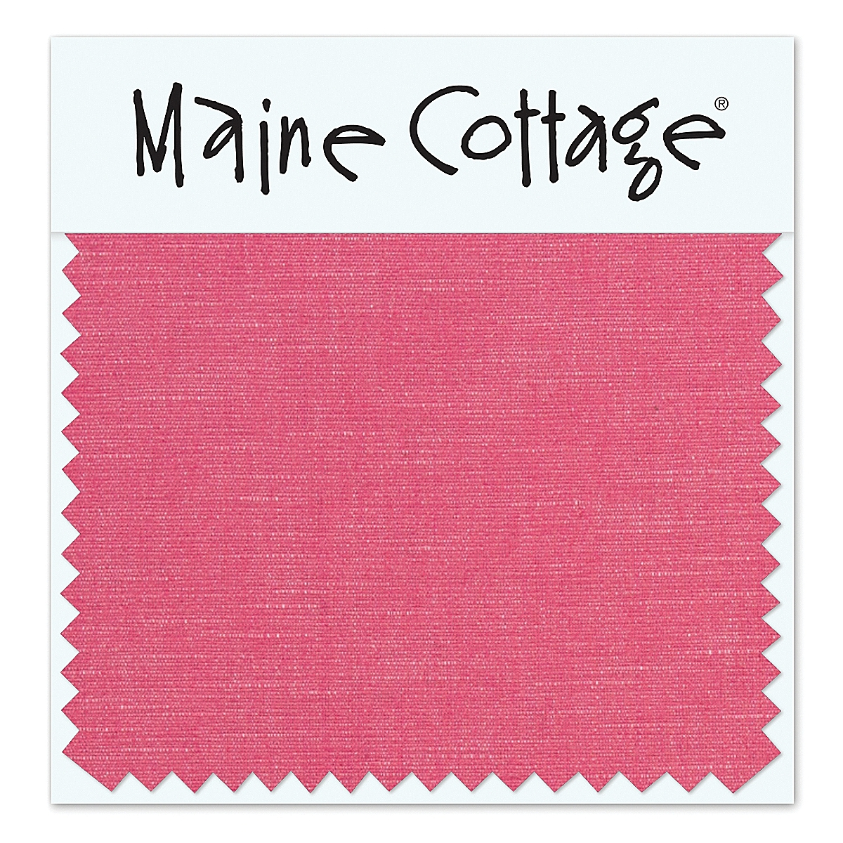 Coastal Cotton: Watermelon (swatch card)