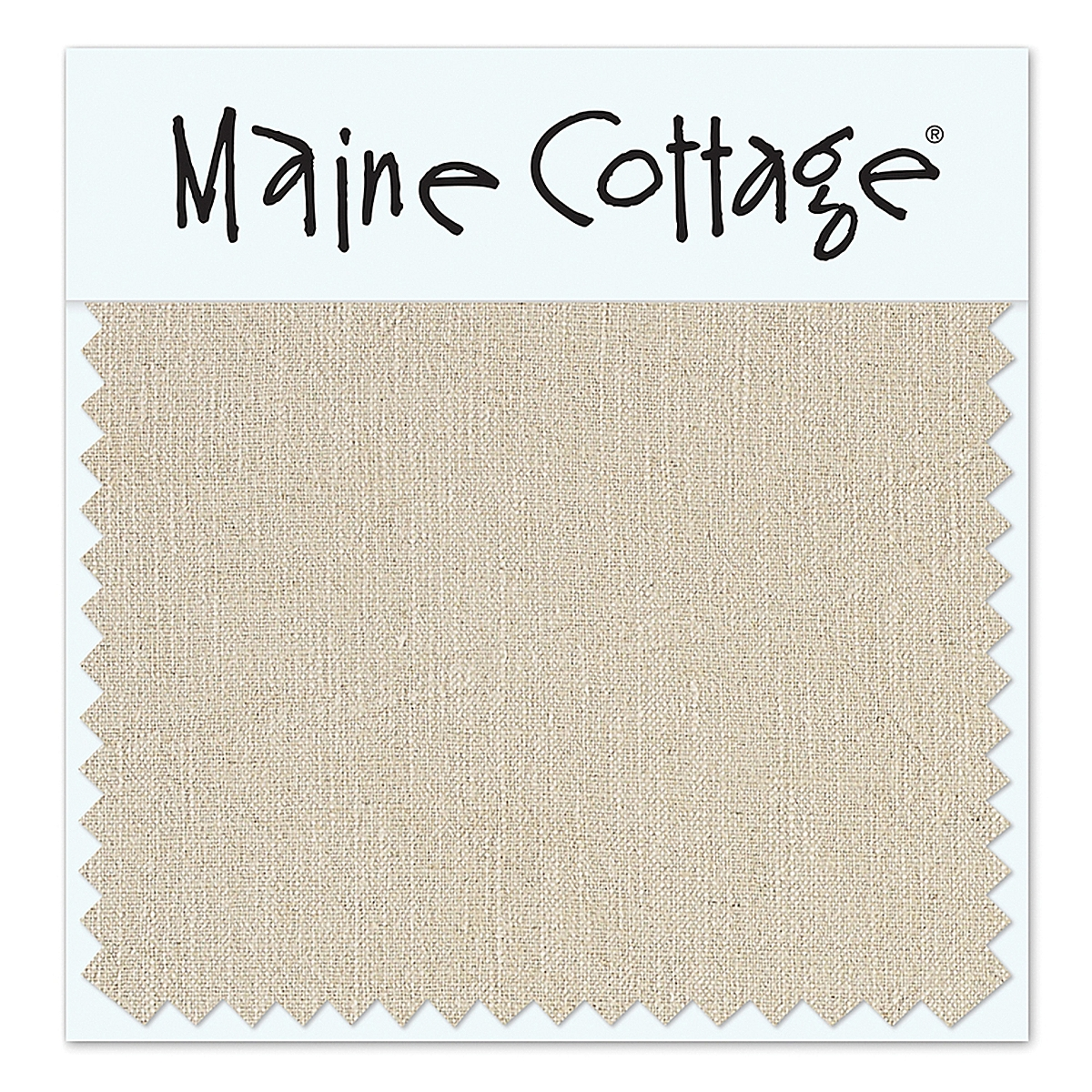 Laid-Back Linen: Oatmeal (swatch card)