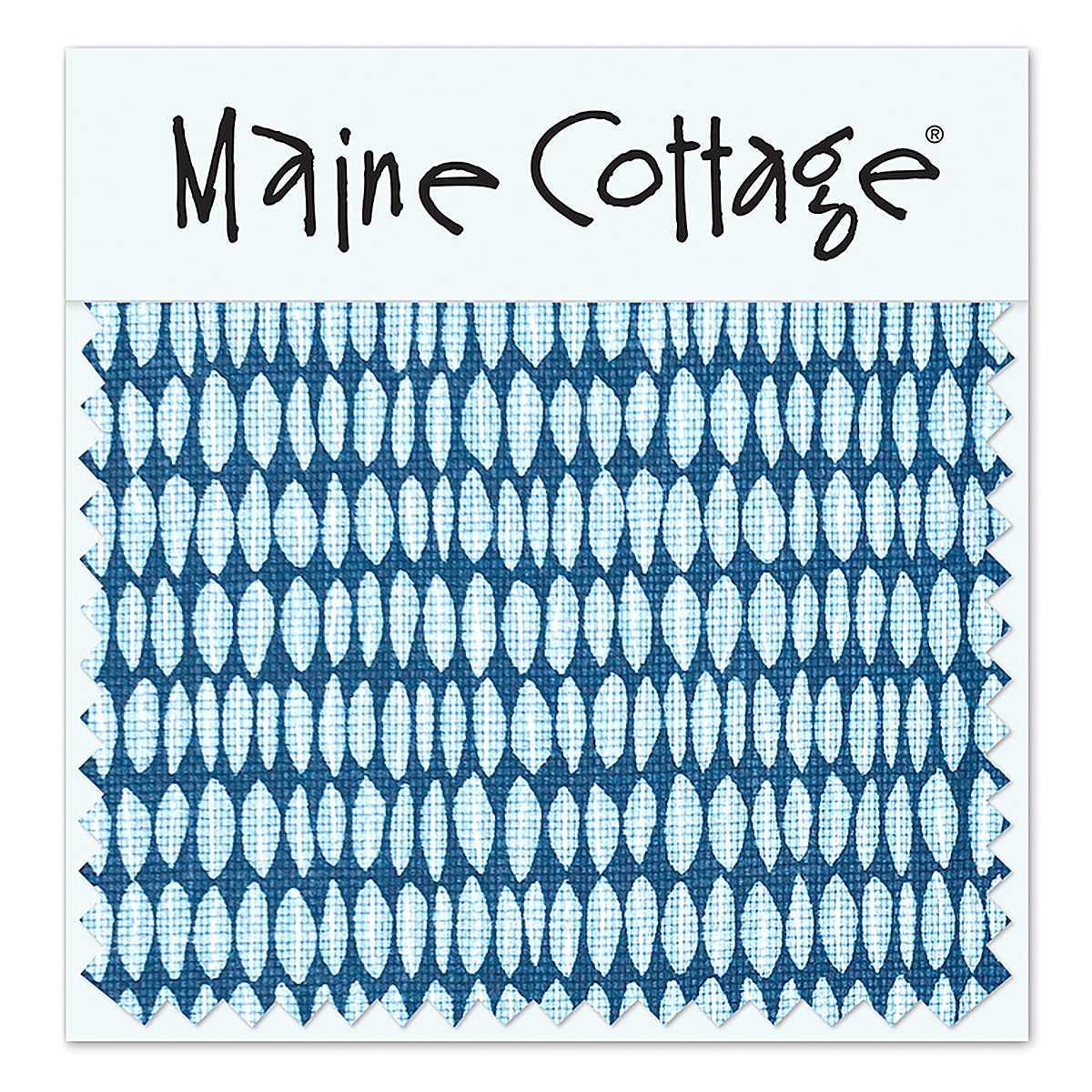 Leaflette: Marine (swatch card)