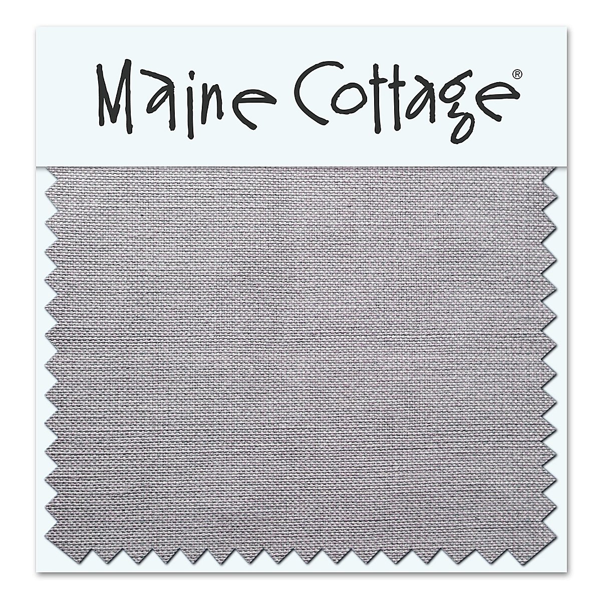 Relaxed Linen: Slate Gray (swatch card)