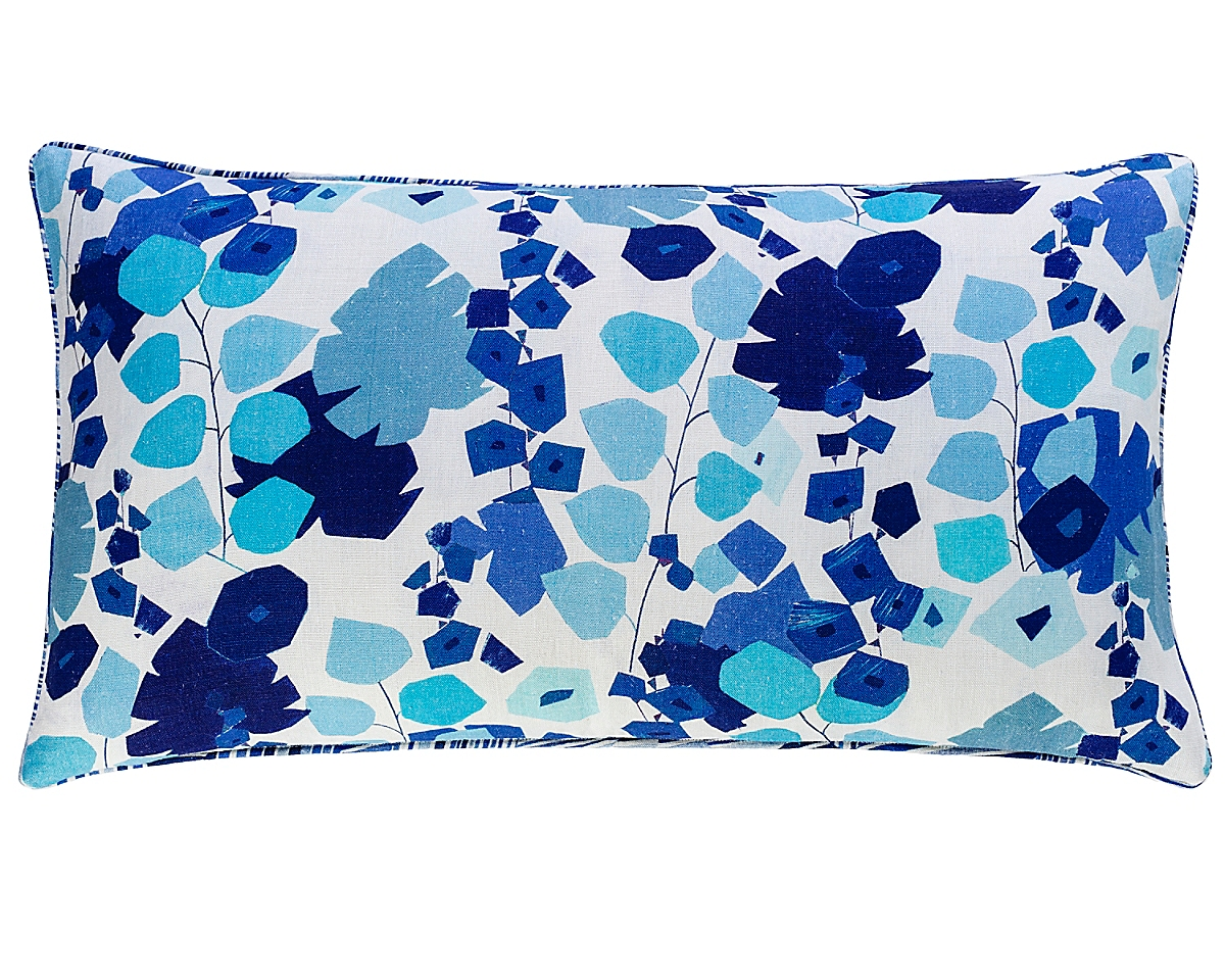 Geo Floral Reversible Pillow-22x40