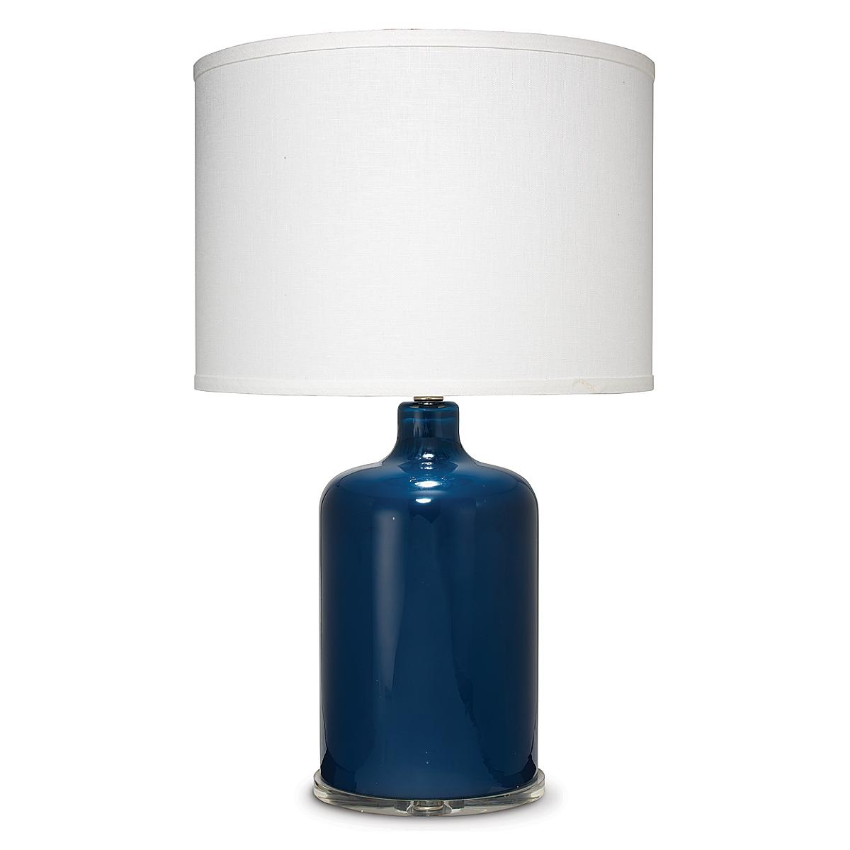 Napa Table Lamp-Navy