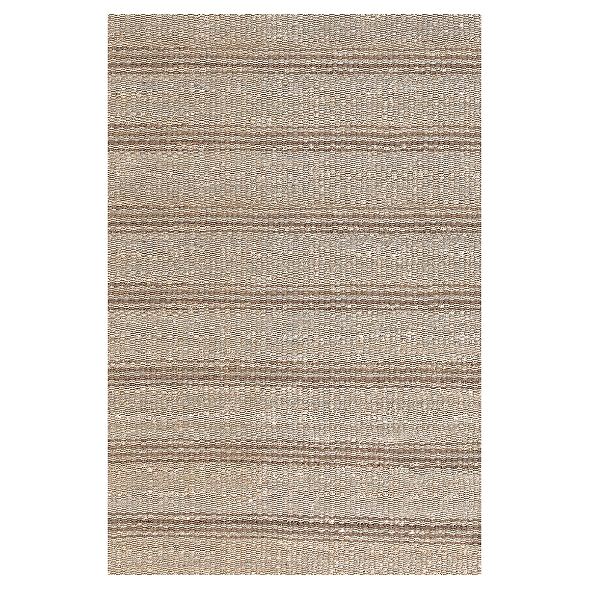 Jute Ticking Natural Woven Rug