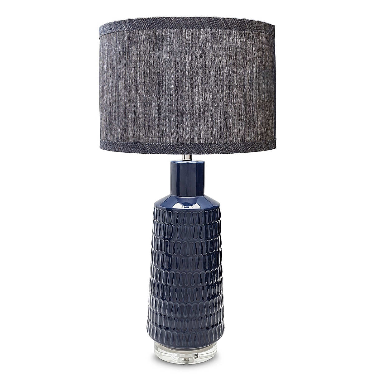 Laurence Table Lamp - Navy
