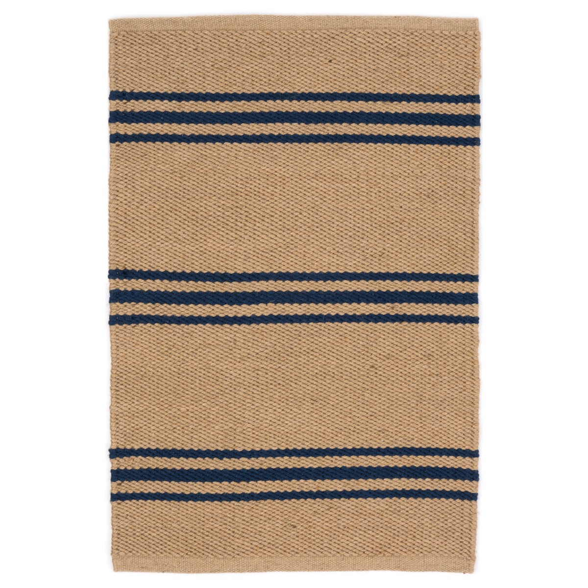 Lexington Indoor/Outdoor Rug - Camel and Navy