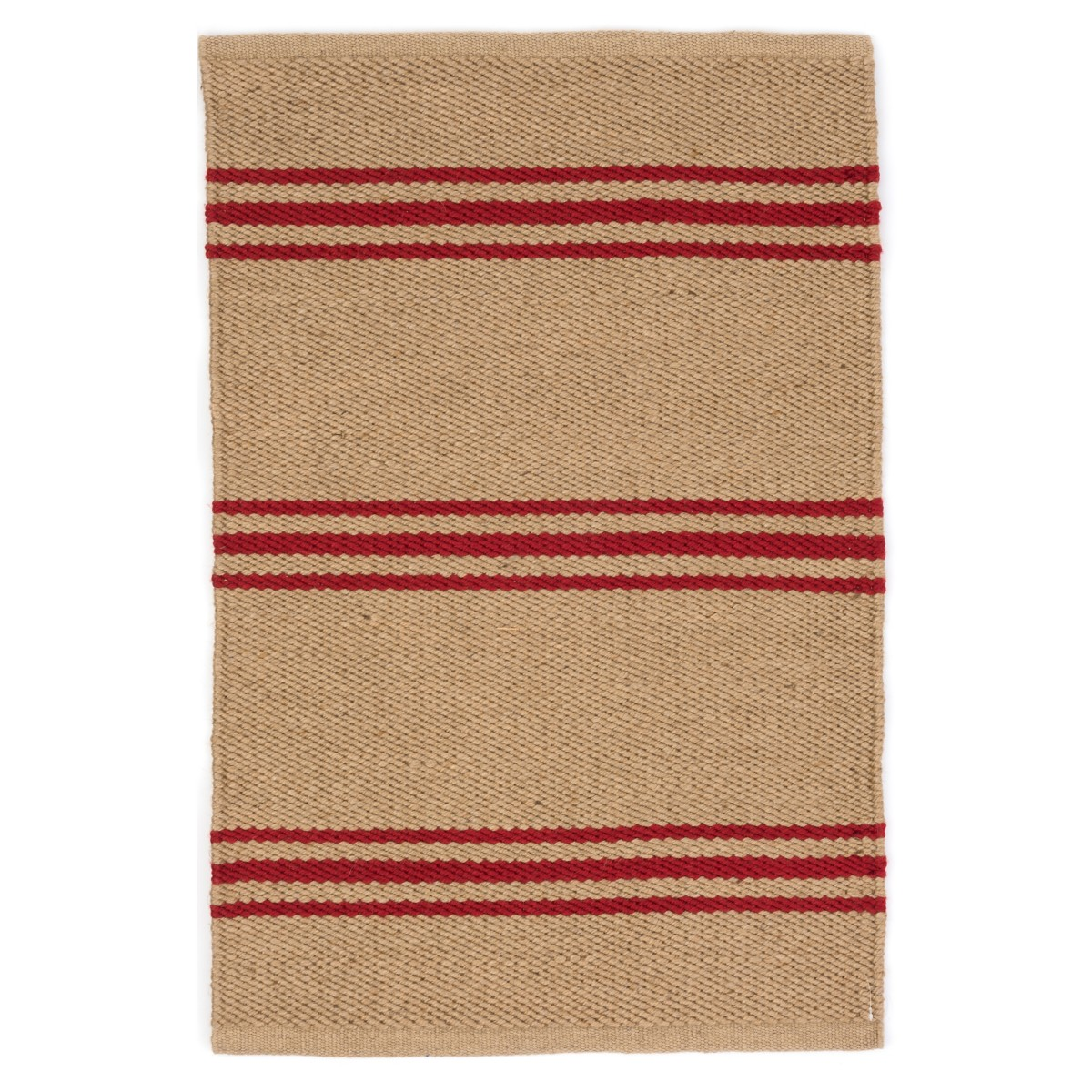 Lexington Indoor/Outdoor Rug - Camel and Red