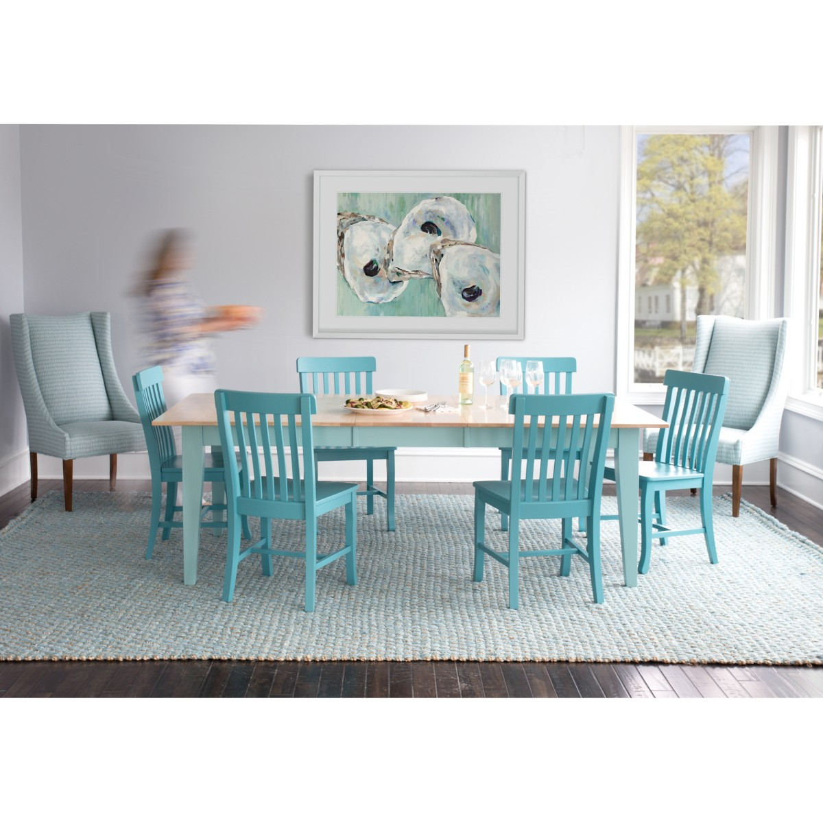 Turquoise Kitchen Table Choice Image - Table Decoration Ideas