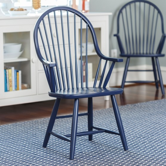Windsor Arm Chairs ~ Windsor arm chair by maine cottage where color lives