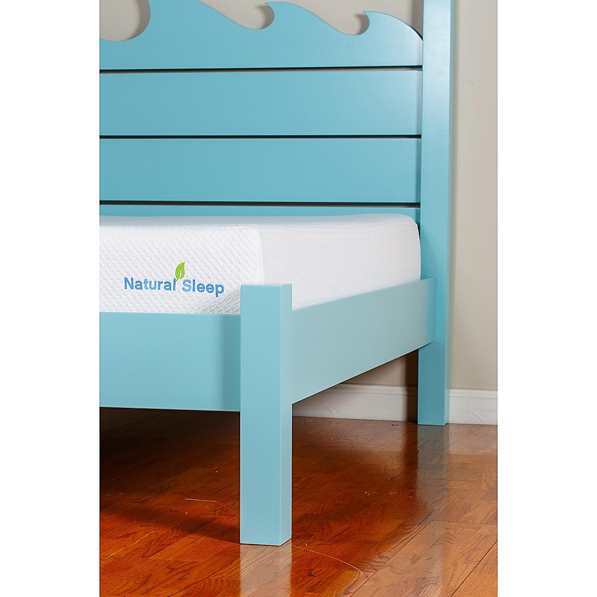 """Natural Sleep Mattress- 10"""" Firm Top"""