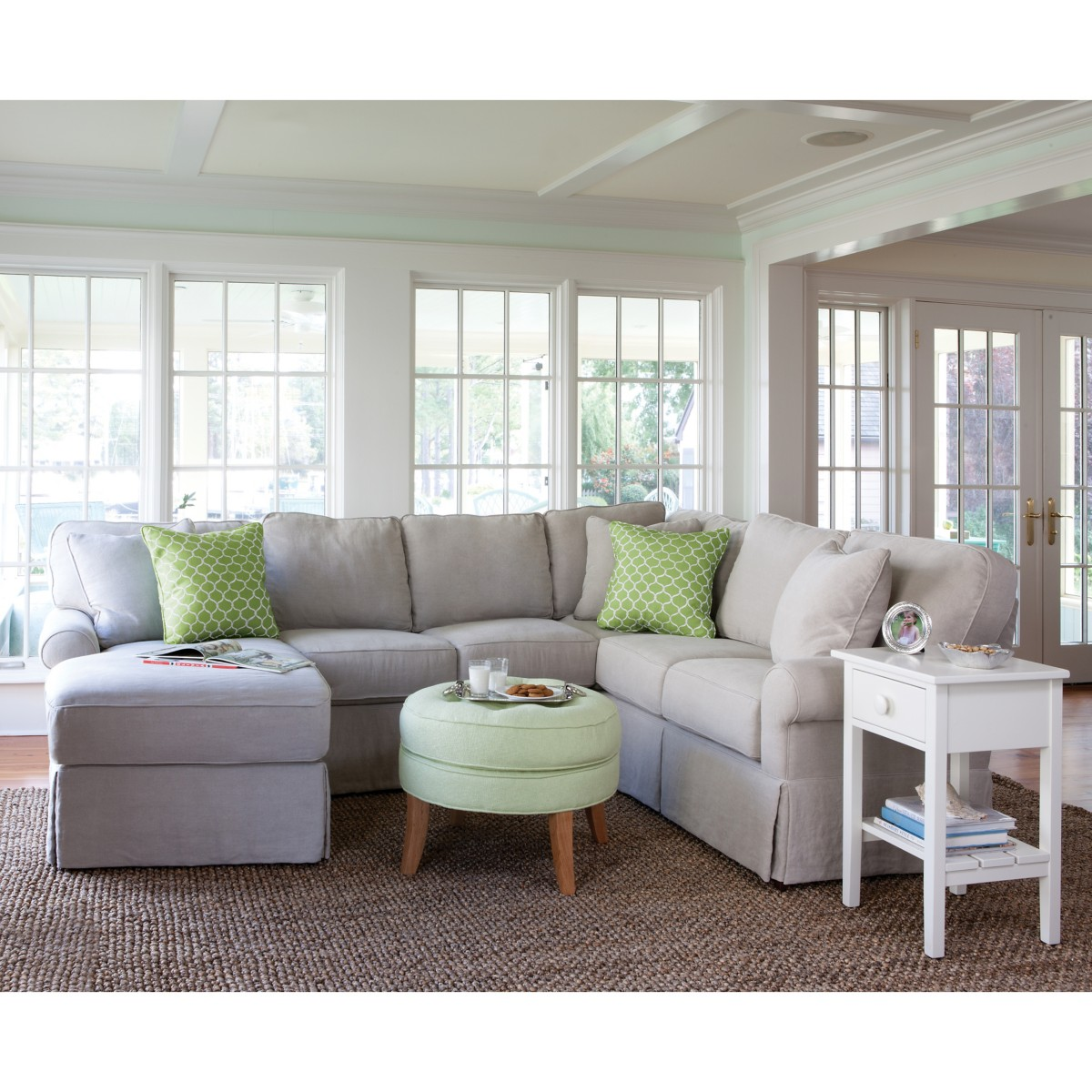Wilton Small Chaise Sectional
