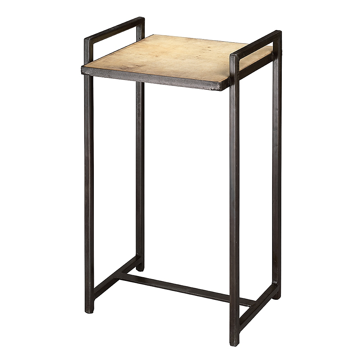 Steel Vellum Side Table