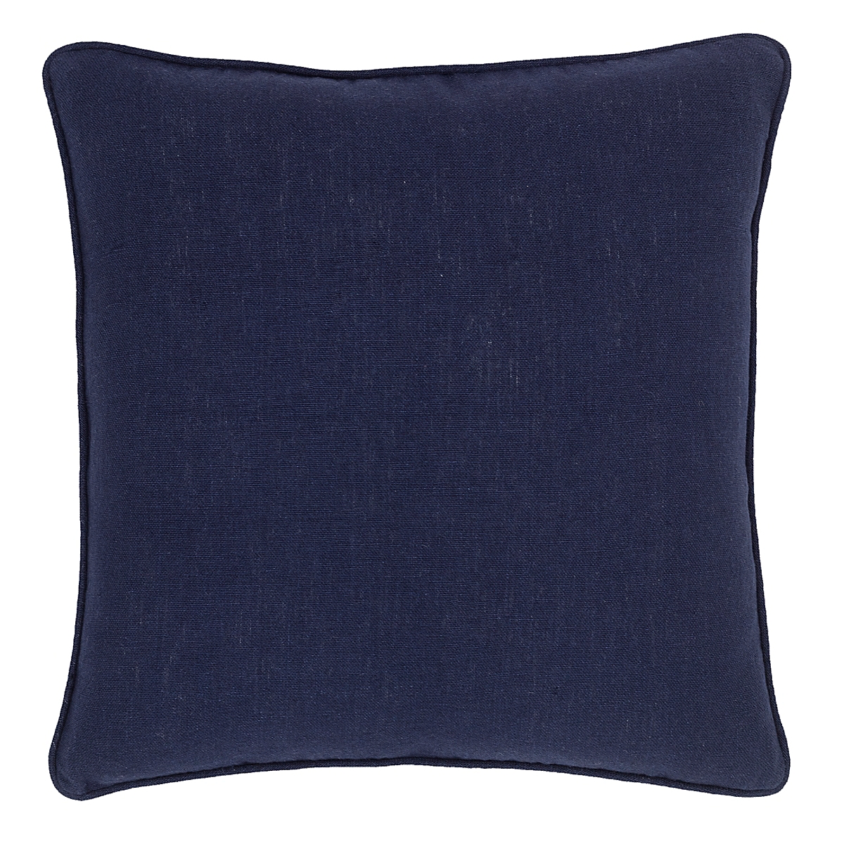 Stone Washed Linen Indigo Decorative Pillow
