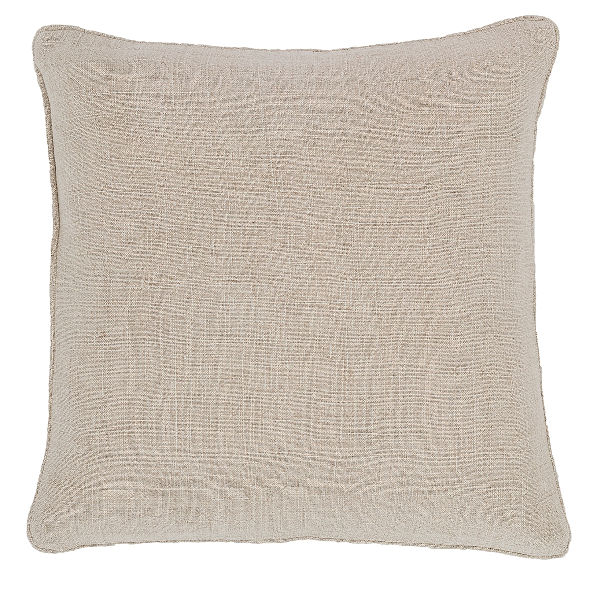 Stone Washed Linen Natural Decorative Pillow
