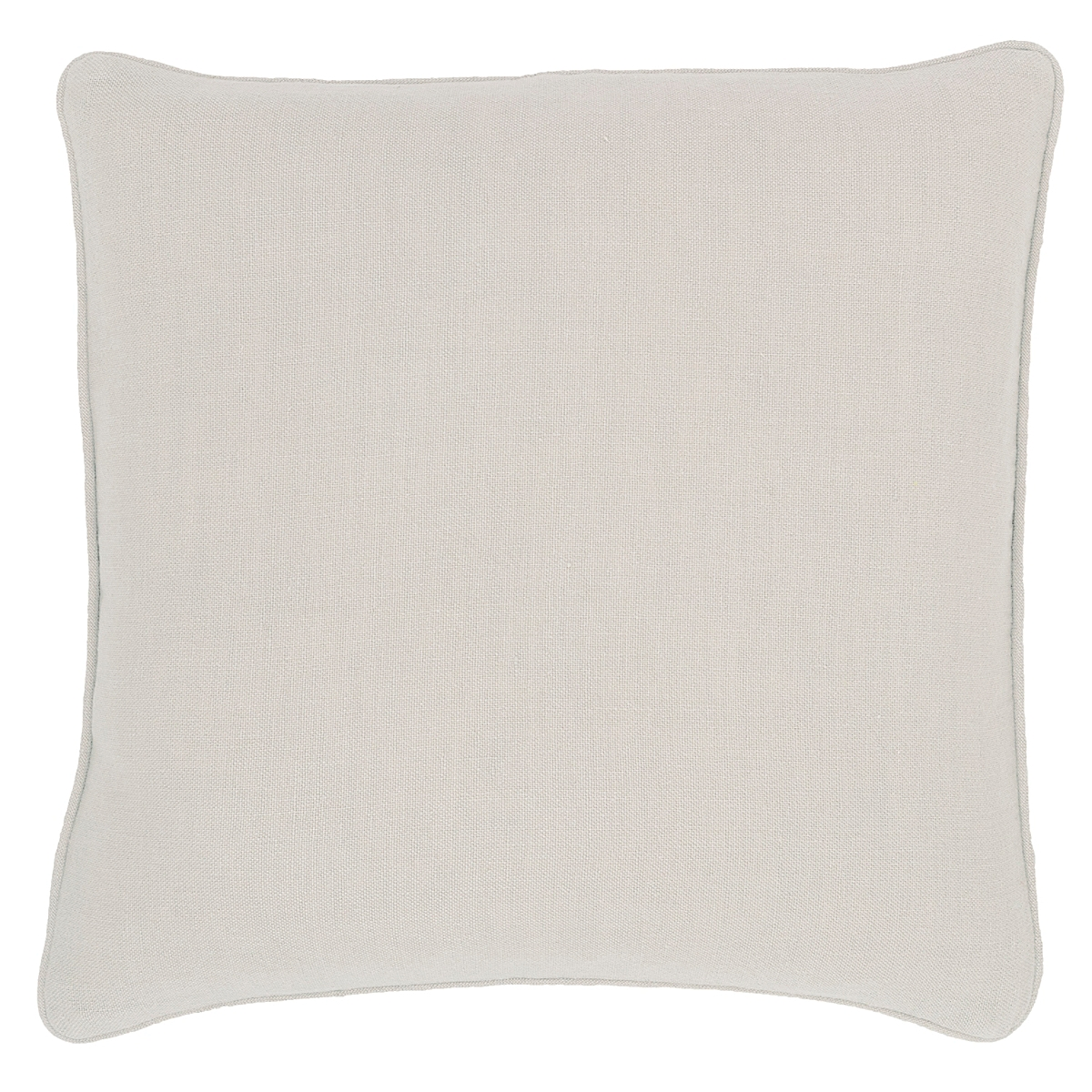 Stone Washed Linen Pearl Grey Decorative Pillow