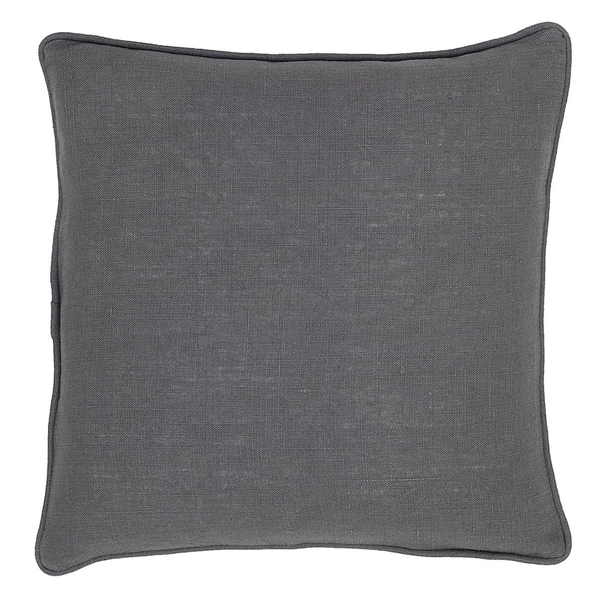 Stone Washed Linen Shale Decorative Pillow