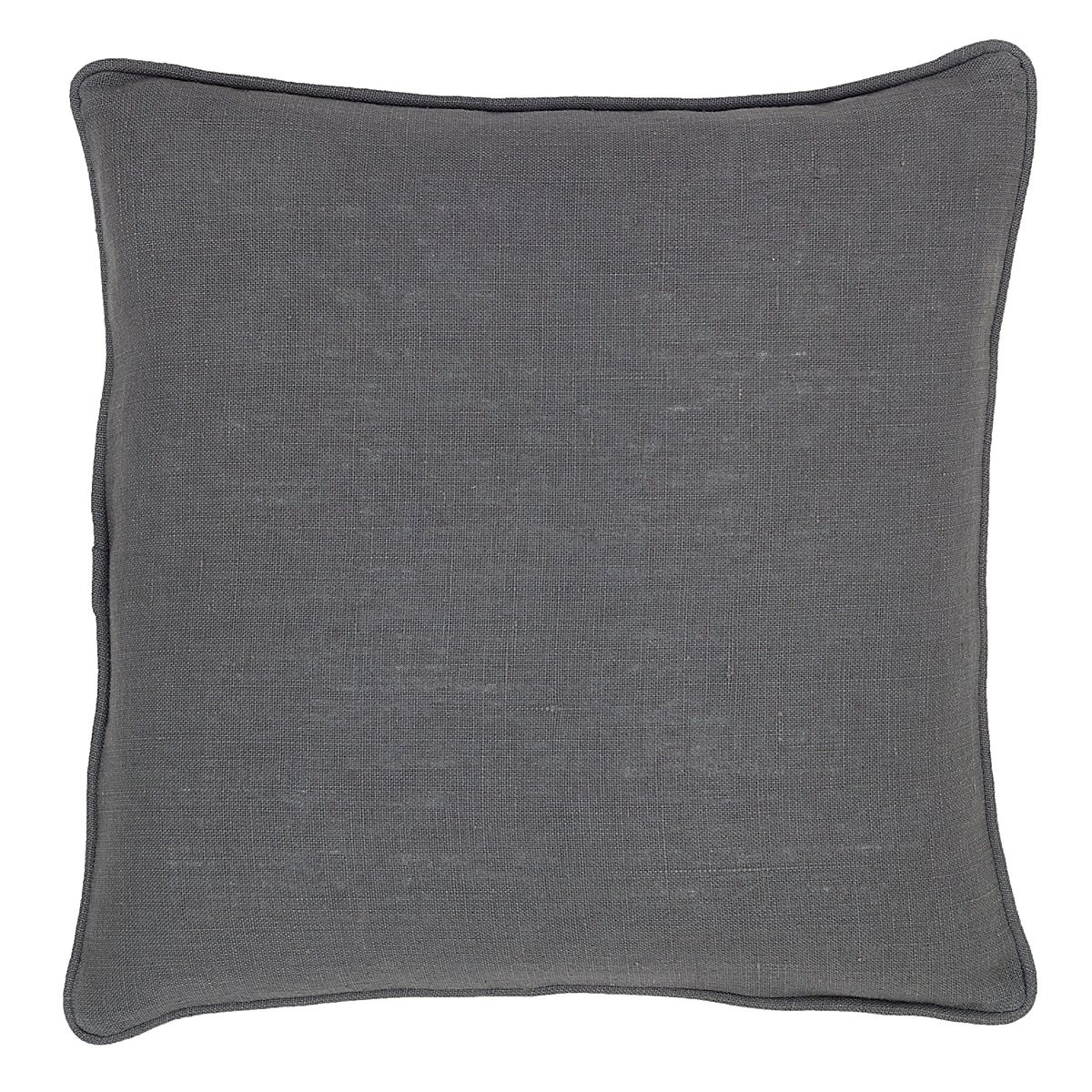 Stone Washed Linen Shale Decorative Pillow
