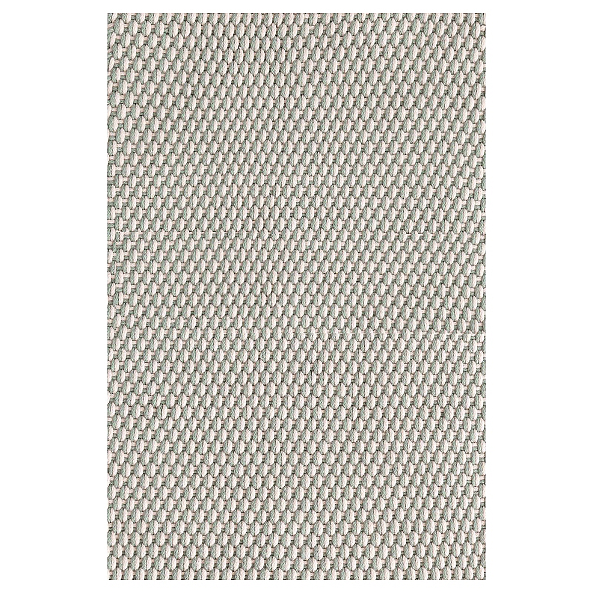 Two-Tone Rope Light Blue/Ivory Indoor/Outdoor Rug