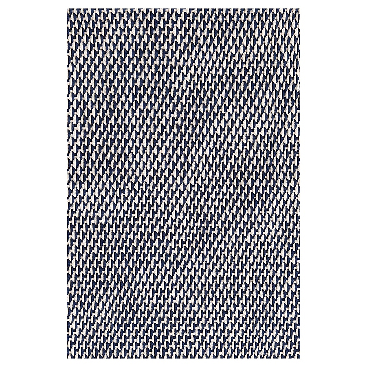 Two-Tone Rope Navy/Ivory Indoor/Outdoor Rug