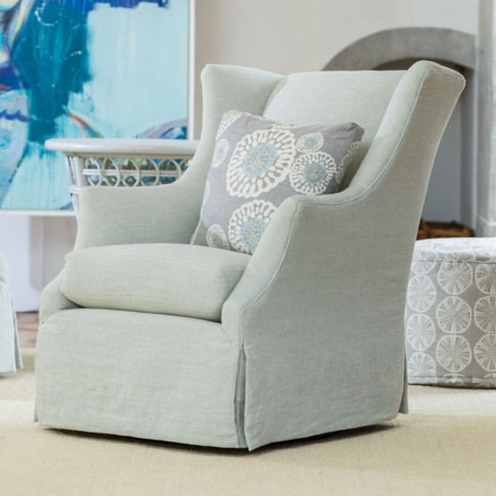 Lilah Swivel Glider Chair Maine Cottage 174