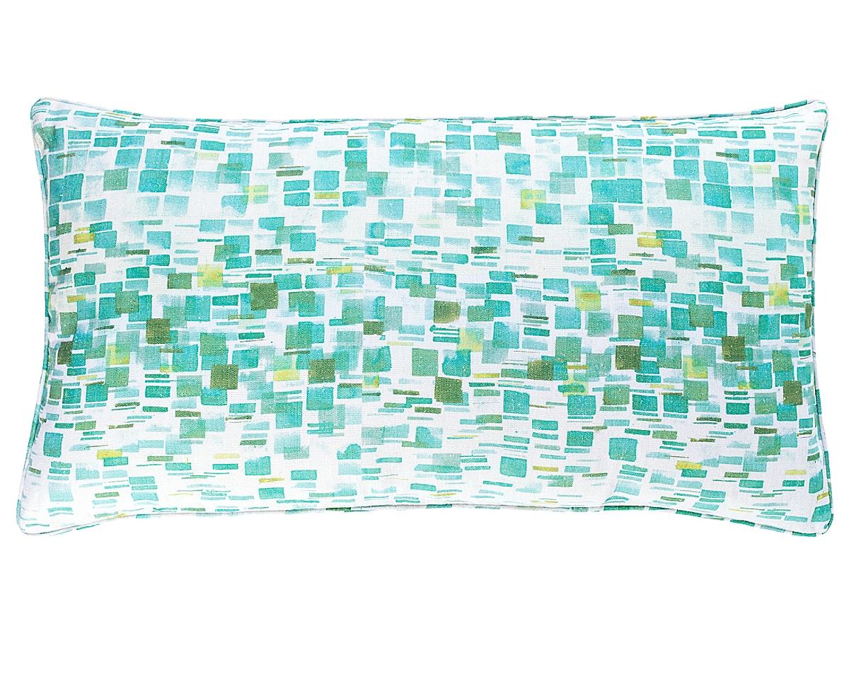 Villa Tile Reversible Pillow-22x40