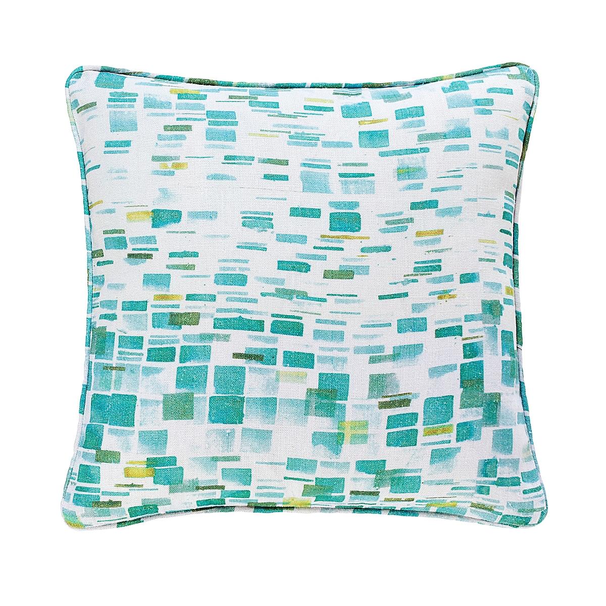 Villa Tile Reversible Pillow-20x20