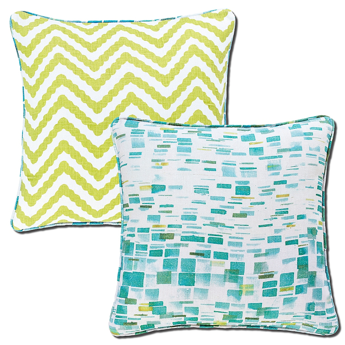 Villa Tile Reversible Pillow-20x20