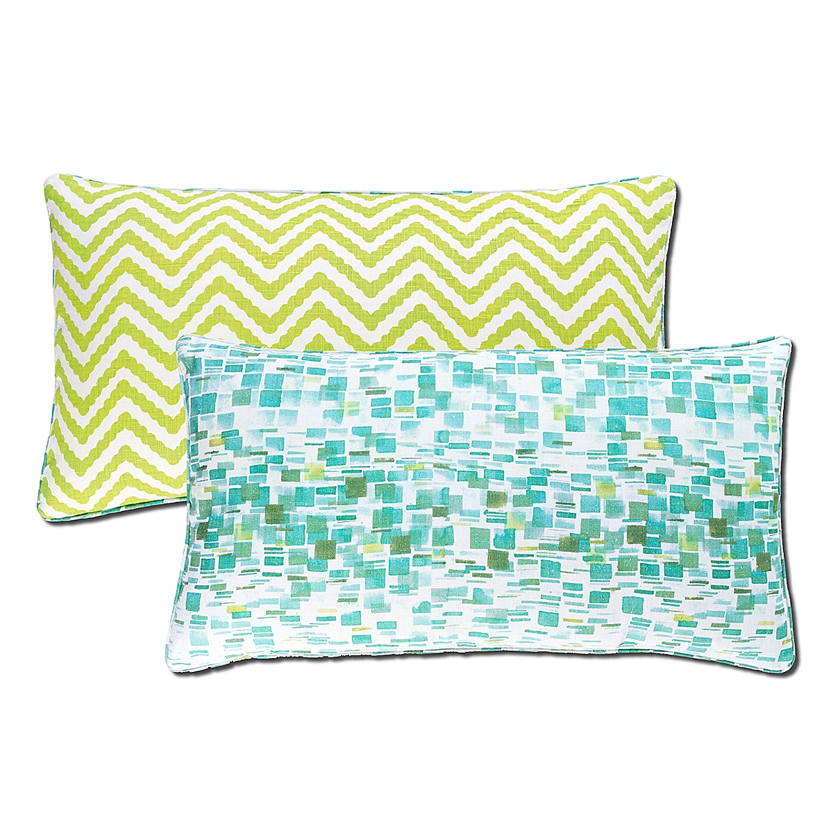 Villa Tile Reversible Pillow-22x40