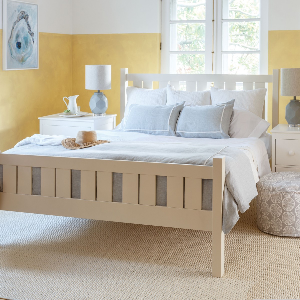 shutter bed - Yellow Bed Frame