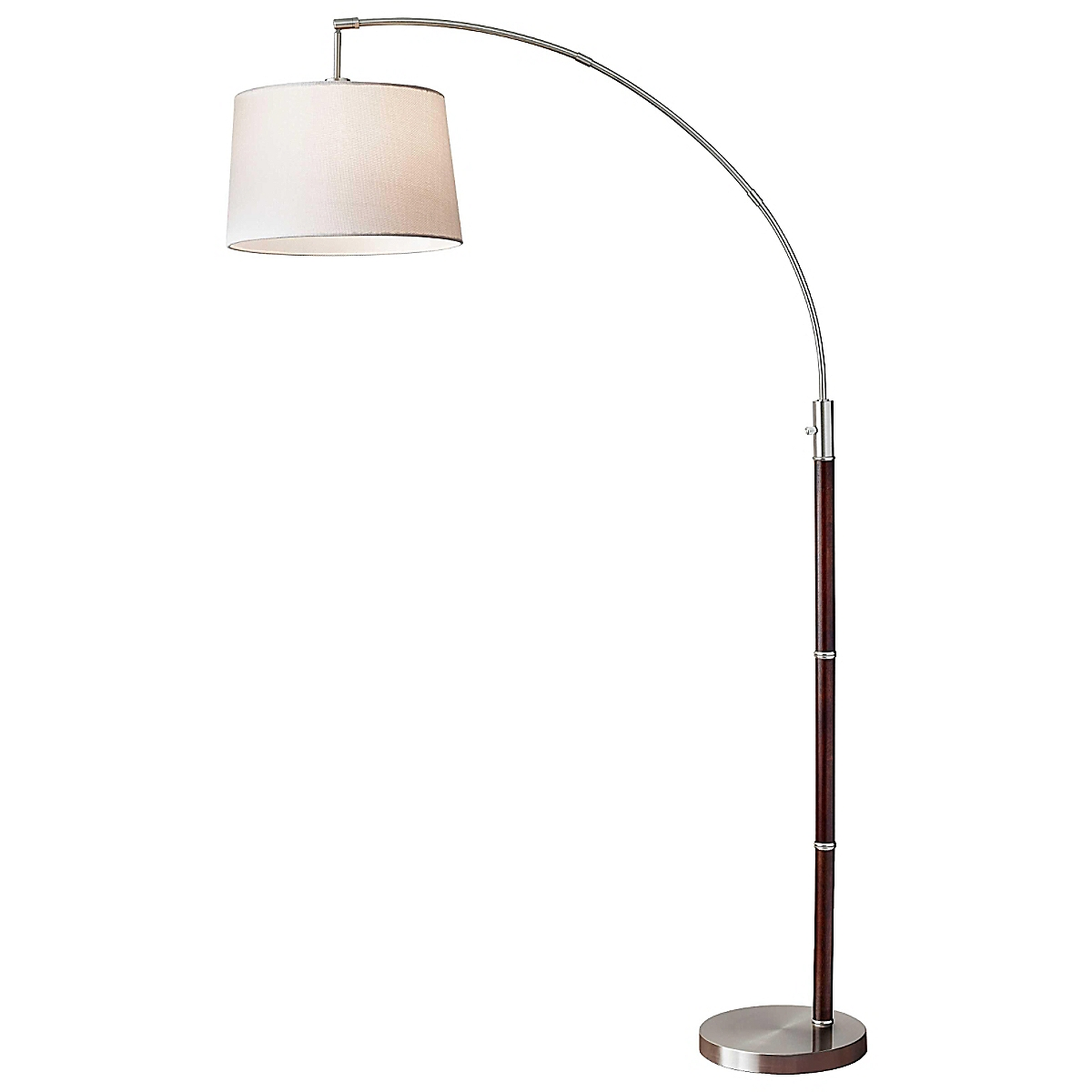 Adjustable Arc Floor Lamp