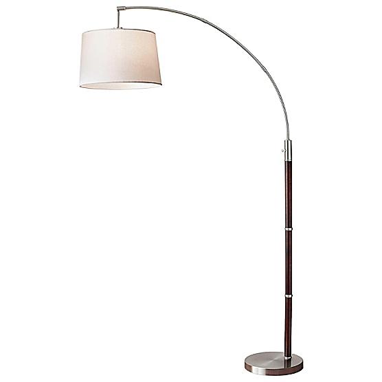 Adjustable arc floor lamp maine cottage adjustable arc floor lamp aloadofball Gallery