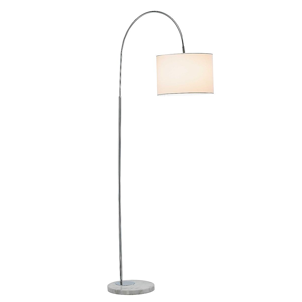 Adjustable Swan Floor Lamp