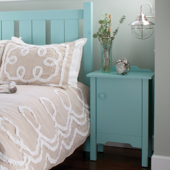 Bay Bedside Cabinet By Maine Cottage Where Color Lives