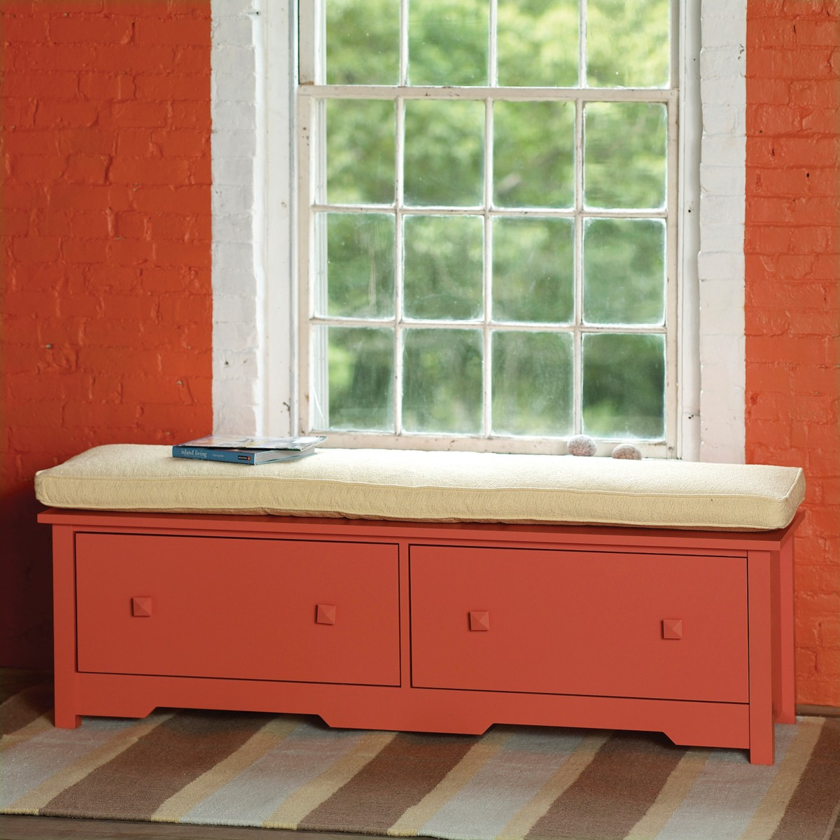 Bay Double Window Seat